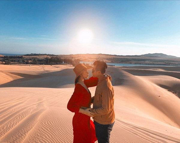 Tiểu sa mạc ở Mũi Né khiến giới trẻ điên đảo