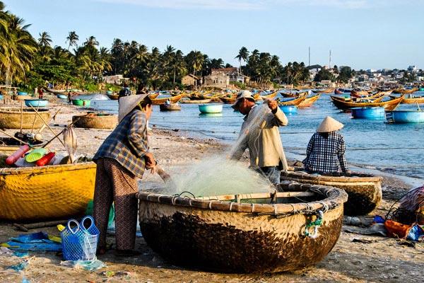 Người dân làng chài ở Mũi Né – Phan Thiết