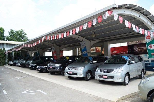 Kinh doanh dịch vụ bãi đỗ xe cho ô tô