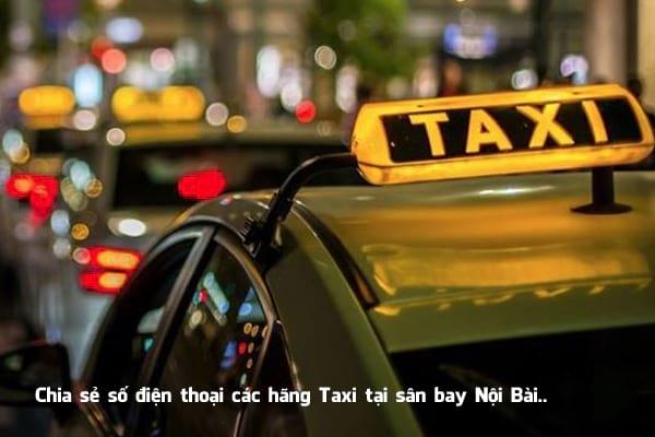 Danh bạ Taxi các hãng tại sân bay Nội Bài