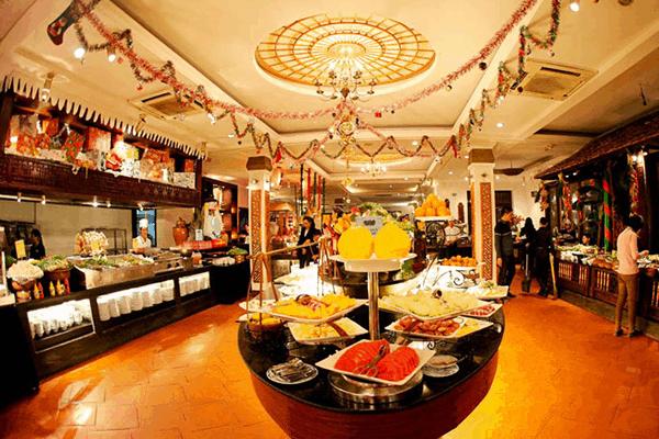 Thế giới ẩm thực buffet sen