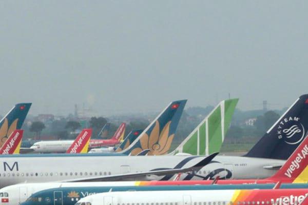 Máy bay của các hãng hàng không Việt Nam