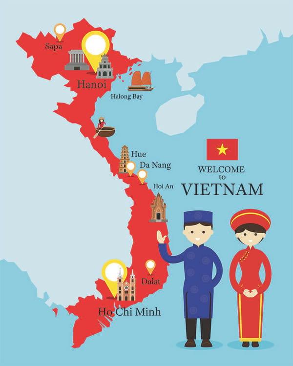 du lịch Việt Nam đang là trải nghiệm đáng nhớ trong mắt du khách nước ngoài