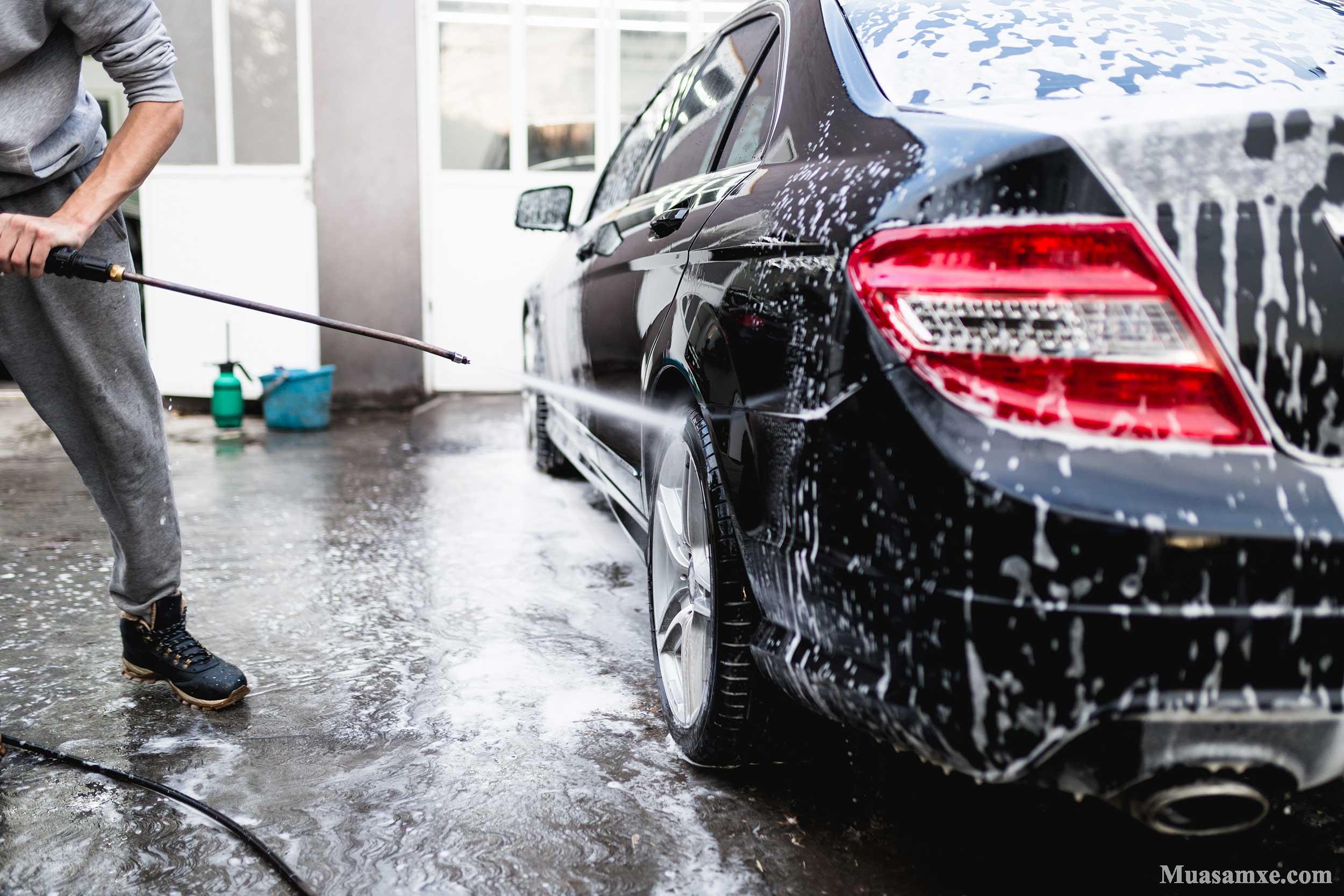 Kinh doanh dịch vụ rửa xe ô tô