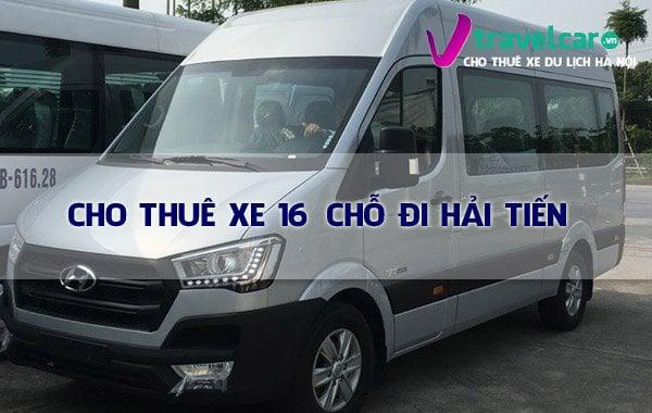 Bảng giá và dịch vụ thuê xe 16 chỗ đi Hải Tiến - Thanh Hóa giá rẻ