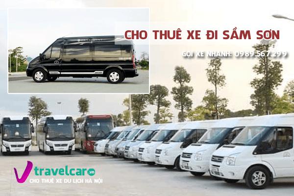 Bảng giá và dịch vụ cho thuê xe Hà Nội Sầm Sơn trọn gói giá rẻ