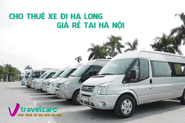 Công ty chuyên cho thuê xe đi du lịch Hạ Long giá rẻ tại Hà Nội