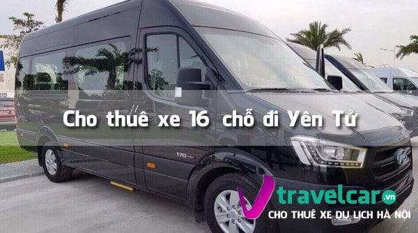 Công ty chuyên cho thuê xe 16 chỗ đi Yên Tử giá rẻ tại Hà Nội