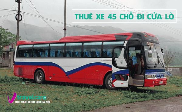 Công ty chuyên cho thuê xe 45 chỗ đi Cửa Lò giá rẻ tại Hà Nội