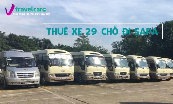 Công ty cho thuê xe 29 chỗ đi Sapa giá rẻ tại Hà Nội