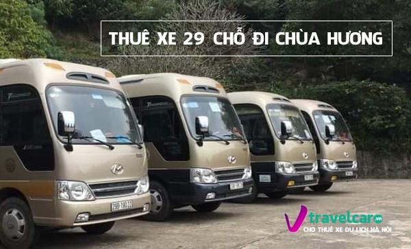 Bảng giá và dịch vụ thuê xe 29 chỗ đi chùa Hương giá rẻ tại hà nội