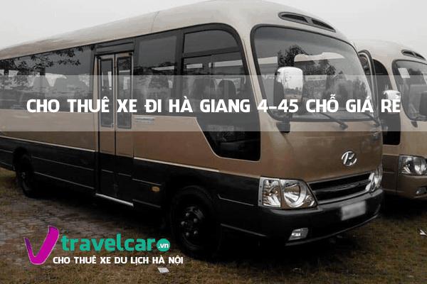 cho thuê xe đi Hà Giang