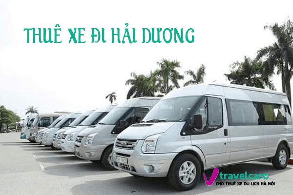 Bàng giá và dịch vụ thuê xe đi Hải Dương 4-45 chỗ giá rẻ tại hà nội