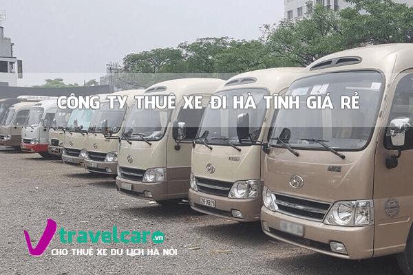 Bảng giá và dịch vụ thuê xe đi Hà Tĩnh 4-45 chỗ giá rẻ tại Hà Nội