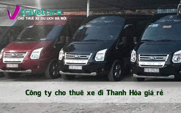 Bảng giá và dịch vụ thuê xe đi Thanh Hóa 4-45 chỗ giá rẻ hà nội