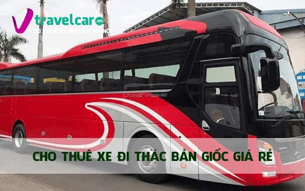 Công ty chuyên cho thuê xe đi Thác Bản Giốc giá rẻ tại Hà Nội.