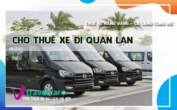 Bảng giá và dịch vụ thuê xe đi Quan Lạn 4-45 chỗ giá rẻ Hà Nội