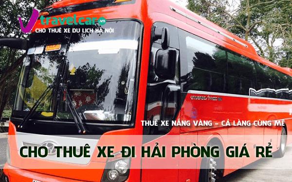 Công ty chuyên cho thuê xe đi Hải Phòng giá rẻ tại Hà Nội