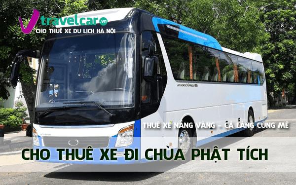 Bảng giá và dịch vụ thuê xe đi Phật Tích 4-45 chỗ giá rẻ tại hà nội