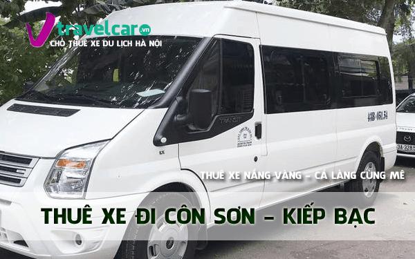 Dịch vụ thuê xe đi Côn Sơn - Kiếp Bạc 4-45 chỗ giá rẻ tại hà nội
