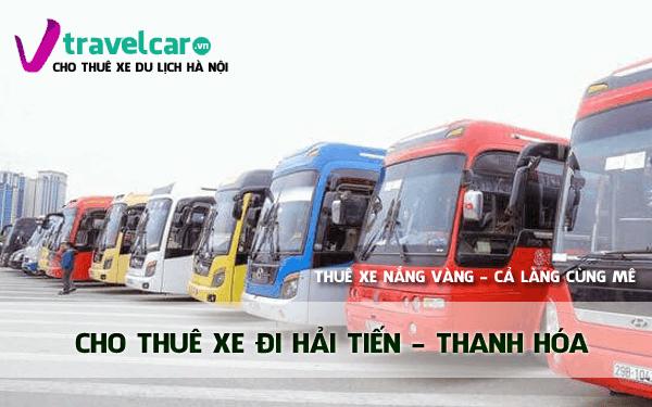 Công ty chuyên cho thuê xe đi du lịch biển Hải Tiến giá rẻ tại Hà Nội