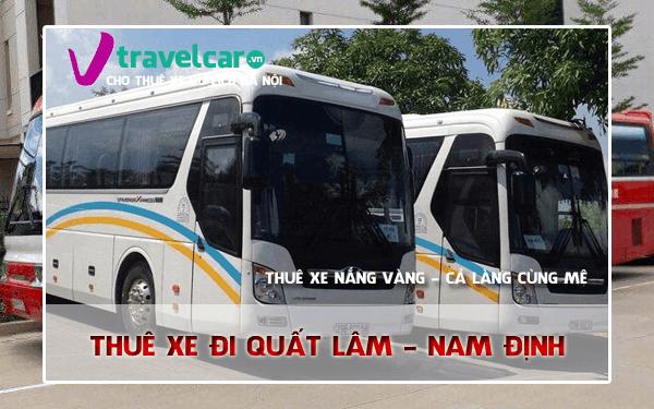 Công ty chuyên cho thuê xe đi Quất Lâm(Nam Định) giá rẻ tại Hà Nội