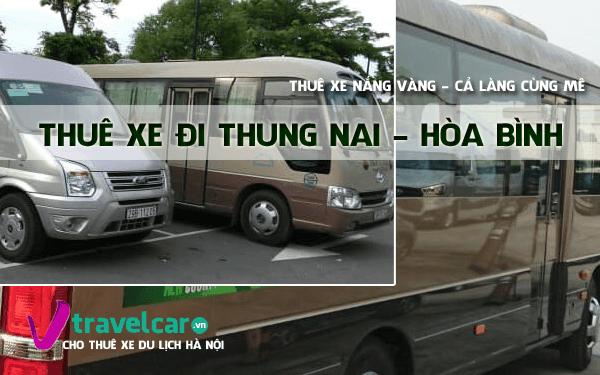 Bảng giá và dịch vụ thuê xe đi Thung Nai 4-45 chỗ giá rẻ tại hà nội