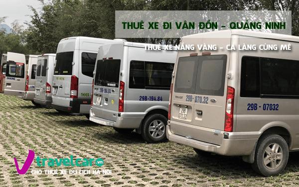 Công ty chuyên cho thuê xe đi Vân Đồn(Quảng Ninh) giá rẻ tại hà nội.