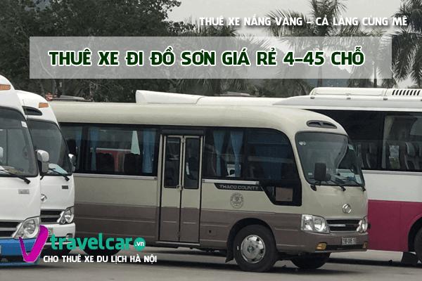 Bảng giá và dịch vụ thuê xe đi Đồ Sơn 4-45 chỗ giá rẻ tại hà nội