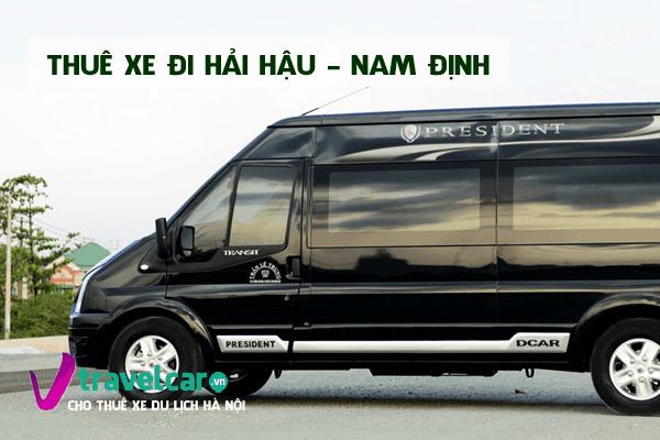 Công ty cho thuê xe đi du lịch biển Hải Hậu giá rẻ tại Hà Nội.
