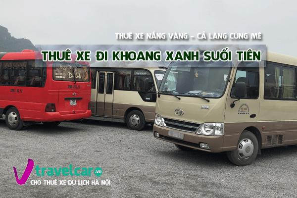 Công ty chuyên cho thuê xe đi Khoang Xang - Suối Tiên(Ba Vì) giá rẻ tại hà nội.