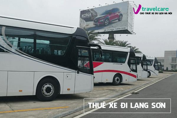 Bảng giá và dịch vụ thuê xe đi Lạng Sơn 4-45 chỗ giá rẻ tại hà nội