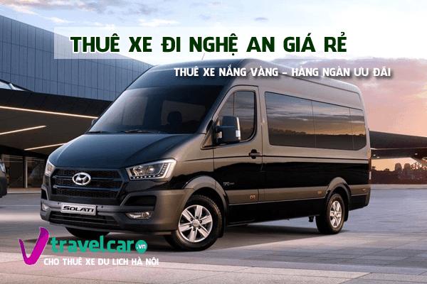 Bảng giá và dịch vụ thuê xe đi Nghệ An 4-45 chỗ giá rẻ tại hà nội