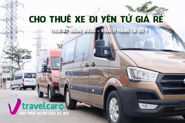 Công ty Nắng Vàng chuyên cho thuê xe đi Yên Tử giá rẻ tại Hà Nội.
