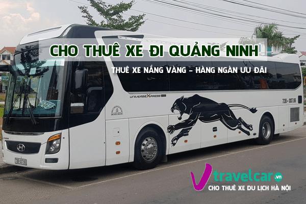 Công ty chuyên cho thuê xe đi Quảng Ninh uy tín - giá rẻ tại hà nội
