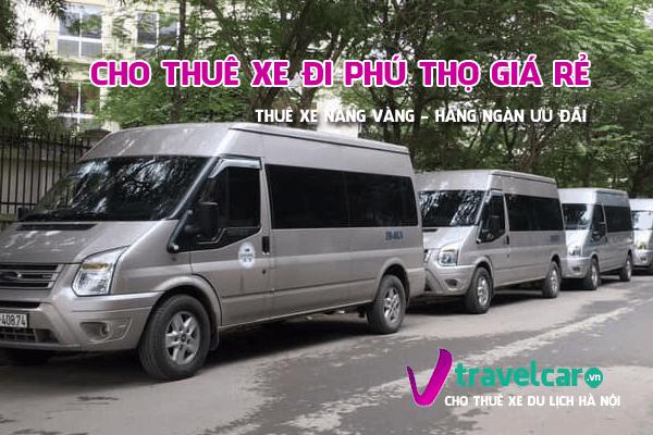 Bảng giá và dịch vụ thuê xe đi Phú Thọ 4-45 chỗ giá rẻ tại hà nội