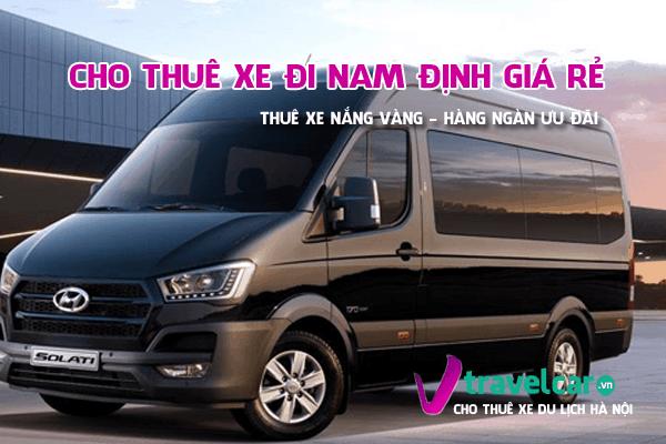 Bảng giá và dịch vụ thuê xe đi Nam Định 4-45 chỗ giá rẻ tại hà nội