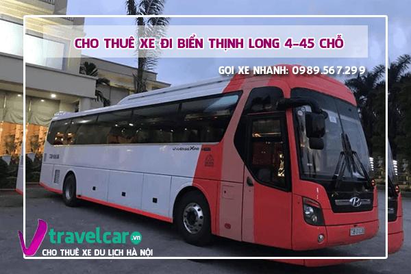 Công ty chuyên cho thuê xe đi biển Thịnh Long(Nam Định) giá rẻ tại hà nội