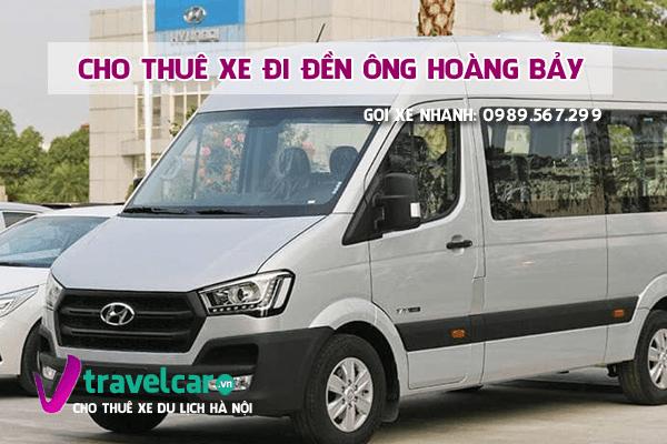 Bảng giá và dịch vụ thuê xe đi đền ông hoàng Bảy(Bảo Hà) tại hà nội