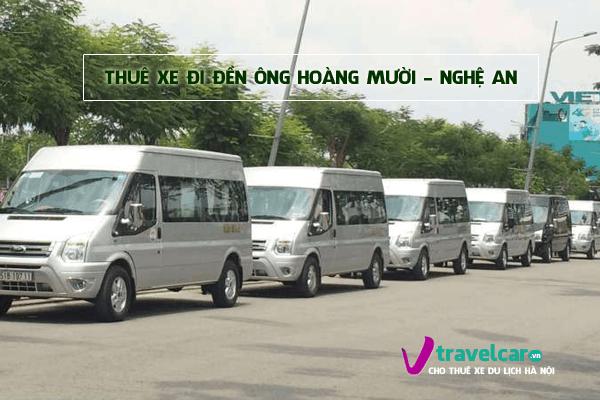 Công ty chuyên cho thuê xe đi đền Ông Hoàng Mười giá rẻ tại hà nội.
