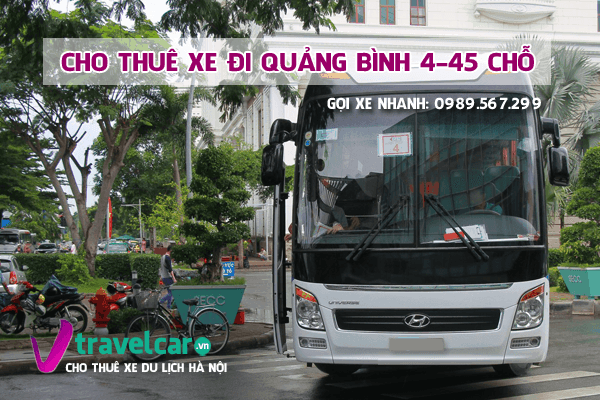 Công ty chuyên cho thuê xe đi Quảng Bình giá rẻ - uy tín tại hà nội