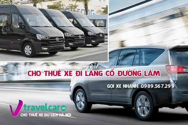 Công ty chuyên cho thuê xe du lịch đi làng cổ Sơn Tây giá rẻ tại hà nội.