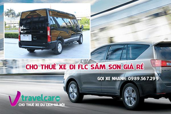Công ty chuyên cho thuê xe đi FLC Sầm Sơn giá rẻ - uy tín tại hà nội.