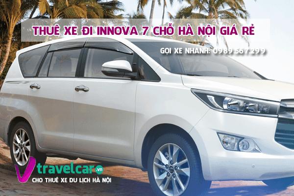 Công ty chuyên cho thuê xe Innova 7 chỗ đời mới 2019 giá rẻ tại hà nội.