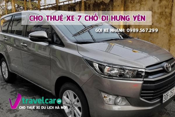 [TOP] Công ty cho thuê xe 7 chỗ đi Hưng Yên giá rẻ tại hà nội