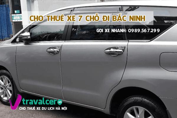 Công ty chuyên cho thuê xe 7 chỗ đi Bắc Ninh giá tốt nhất tại hà nội
