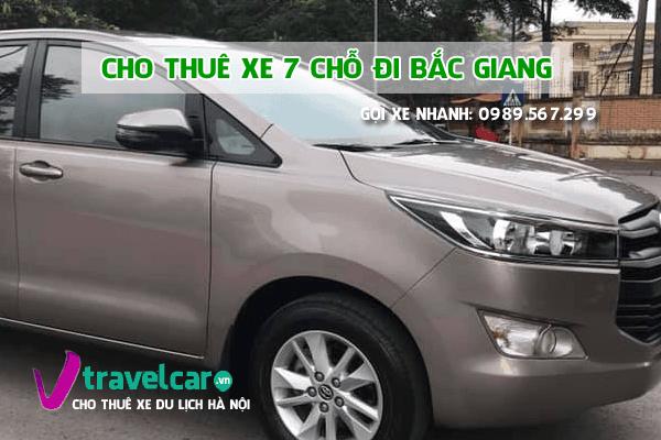 Công ty chuyên cho thuê xe 7 chỗ đi Bắc Giang giá tốt nhất tại hà nội.