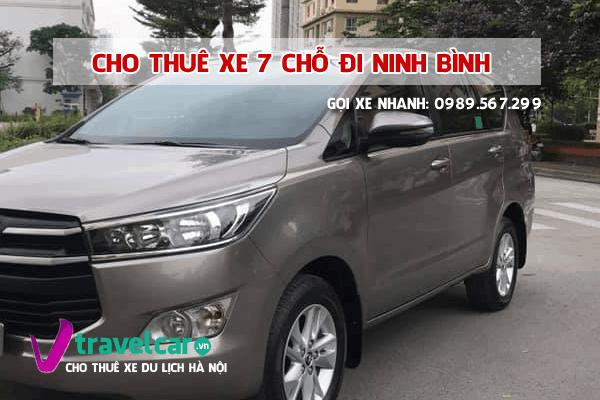 [TOP] Công ty cho thuê xe 7 chỗ đi Ninh Bình giá rẻ tại hà nội