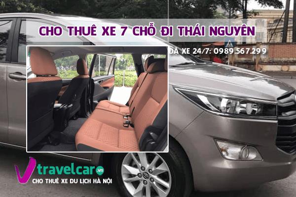 [TOP] Công ty cho thuê xe 7 chỗ đi Thái Nguyên giá rẻ tại hà nội