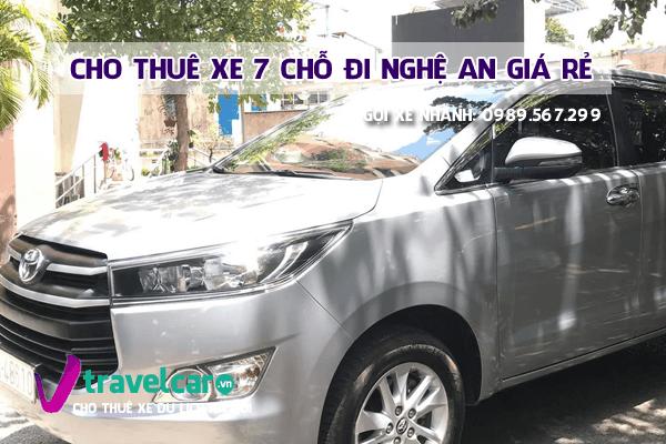 Công ty chuyên cho thuê xe 7 chỗ Hà Nội Nghệ An giá rẻ tại Hà Nội.